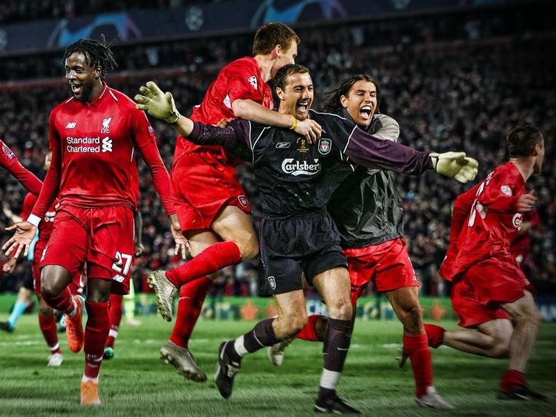 Dva legendárne tímy FC Liverpool - 2005 a 2019