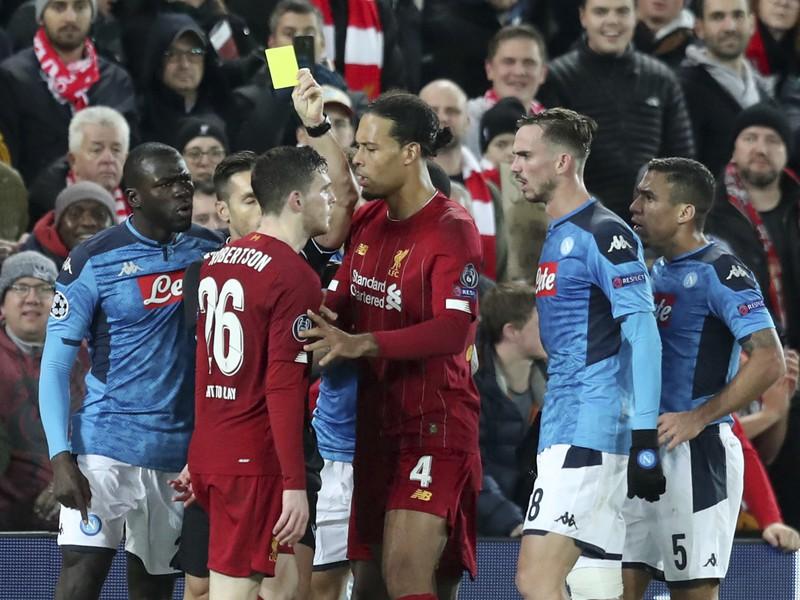 Roztržka medzi hráčmi Liverpoolu a Neapola