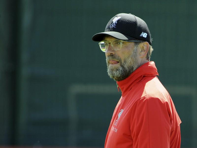 Na snímke tréner FC Liverpool Jürgen Klopp
