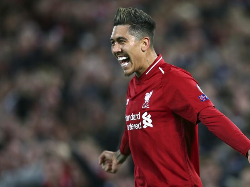 Na snímke brazílsky útočník Liverpoolu Roberto Firmino
