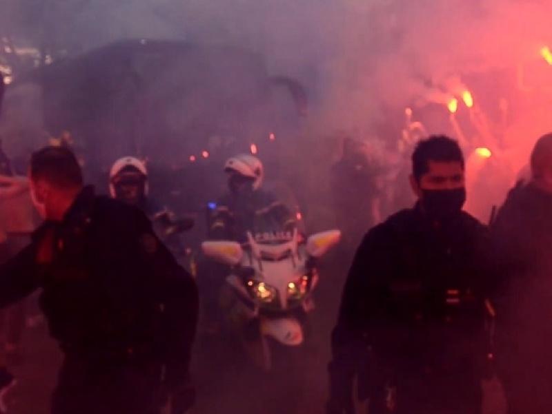 Fanúšikovia Nantes oslavovali záchranu mužstva v najvyššej francúzskej súťaži