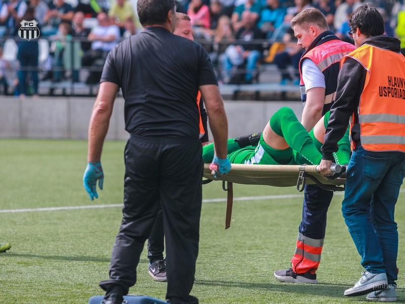 Nepekné zranenie Frederika Valacha