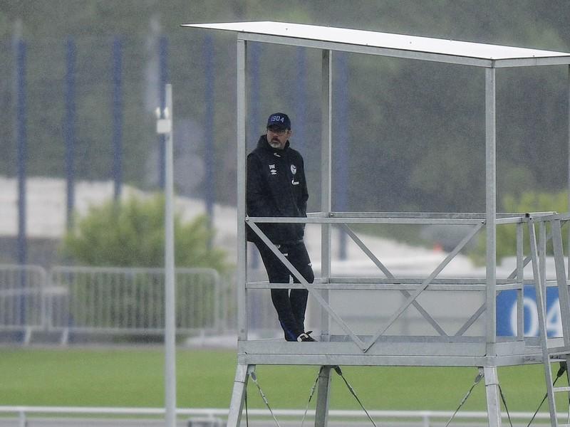 Hlavný tréner bundesligového tímu FC Schalke 04 David Wagner