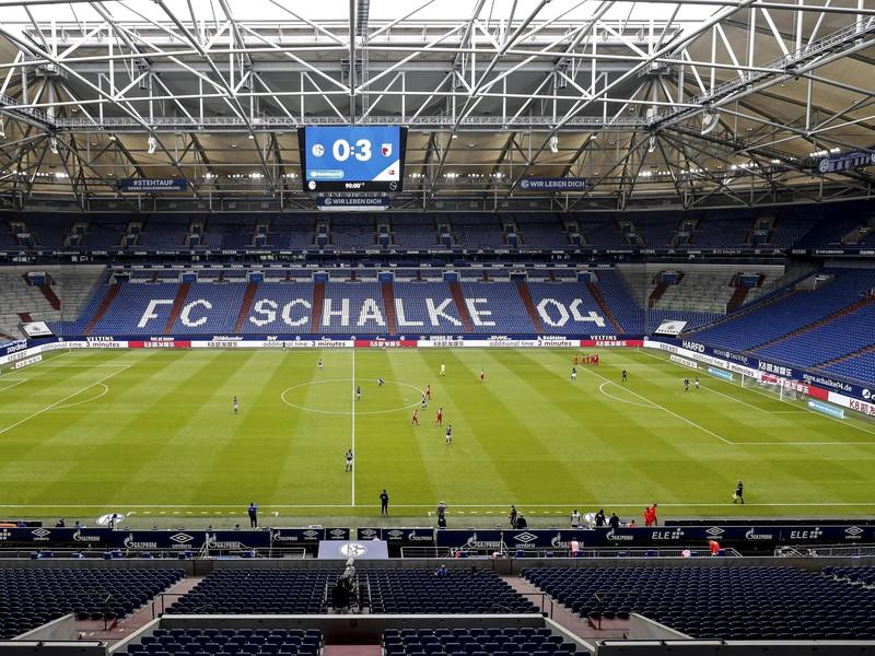 Veltins-Arena v Gelsenkirchene, domovský stánok tímu Schalke 04