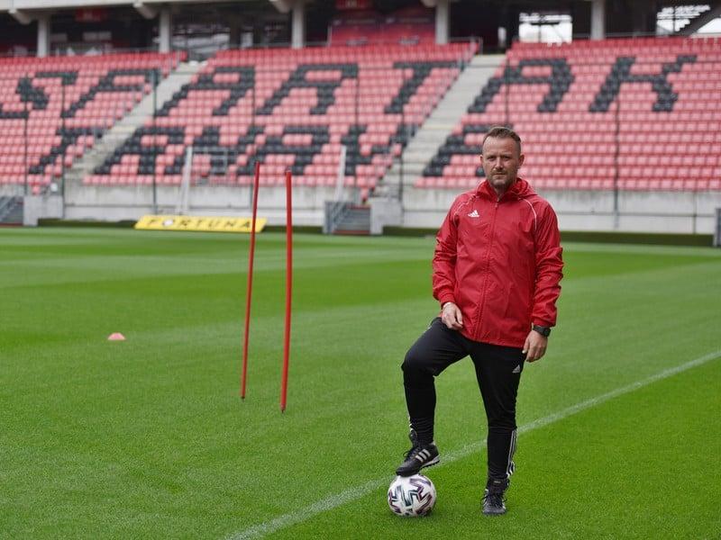 Nový dočasný tréner futbalistov FC Spartak Trnava Marián Šarmír