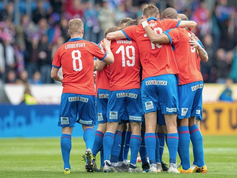 Gólové oslavy futbalistov Plzne