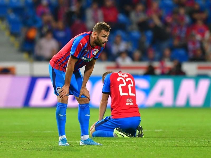 Sklamaní hráči Plzne po konci v Európskej lige
