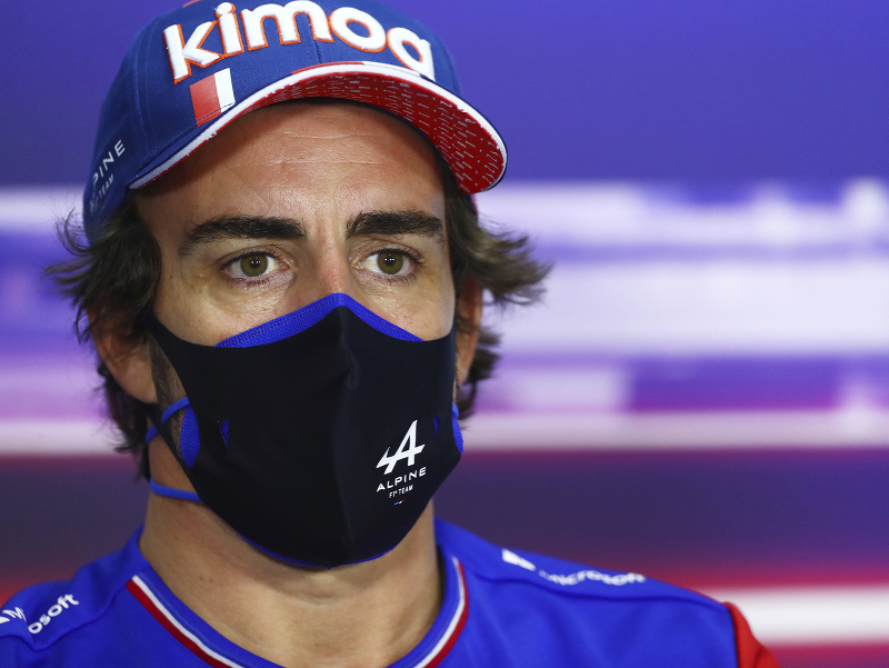 Španielsky pilot F1 Fernando Alonso