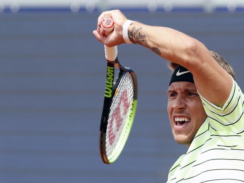 Slovenský tenista Alex Molčan vo štvrťfinále proti Verdascovi