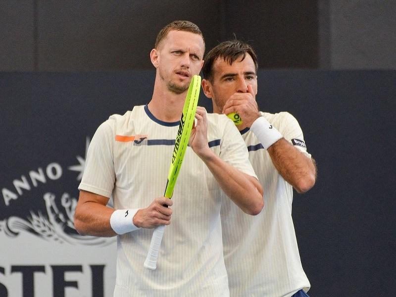 Filip Polášek a Ivan Dodig