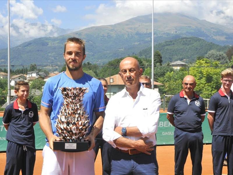Andrej Martin v talianskej Bielle zvíťazil aj v súťaži dvojhier