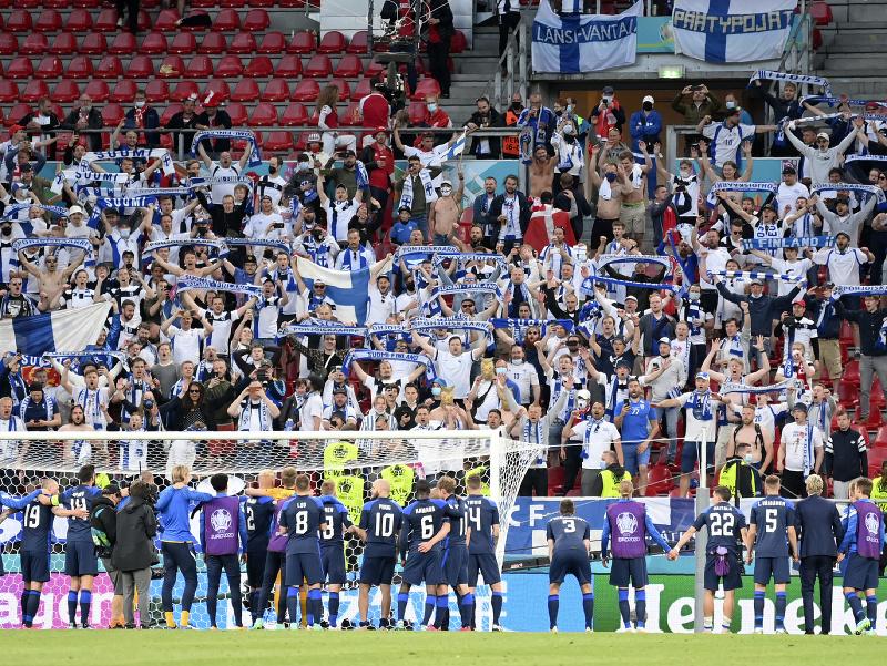 Fínski futbalisti počas európskeho šampionátu