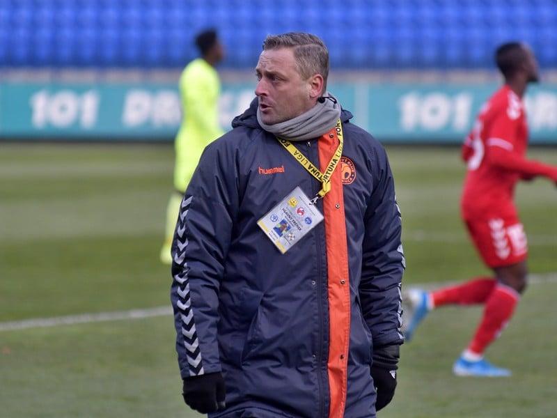 Tréner FK Senica Michal Ščasný