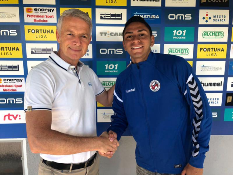 Luis Ramirez sa stal novou posilou FK Senica