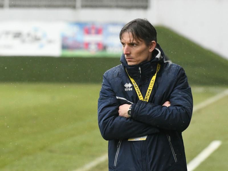 Tréner FK Pohronie Jan Kameník