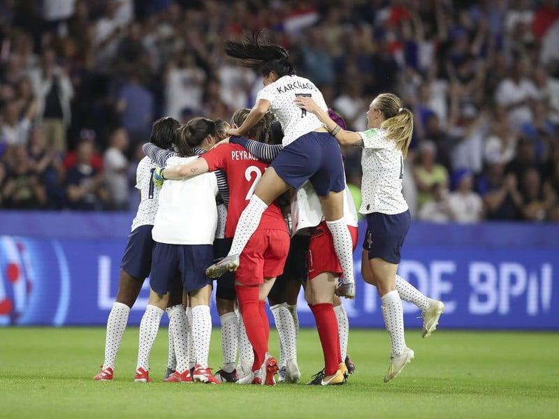 Francúzky oslavujú postup