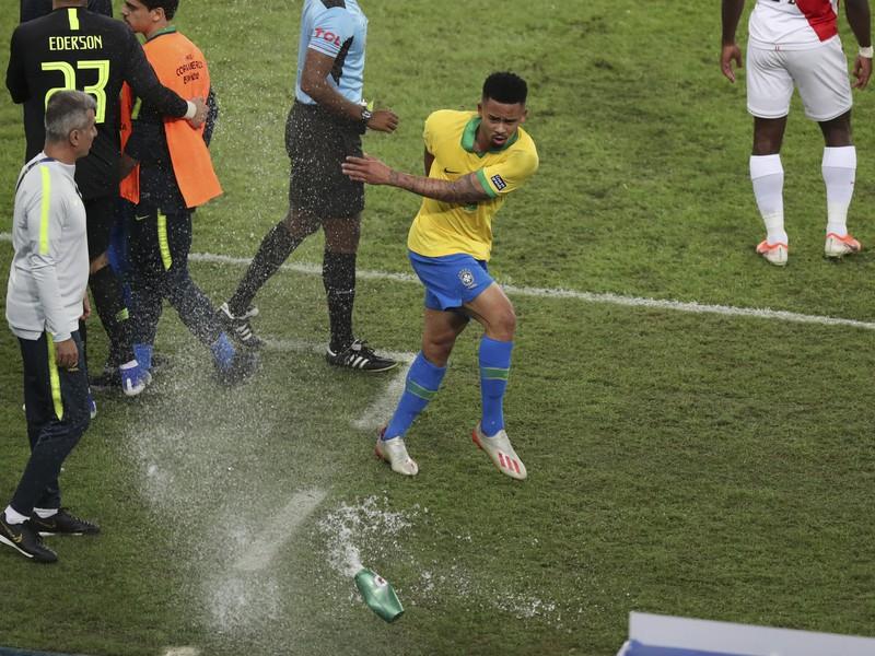 Inkriminovaný moment na Copa América