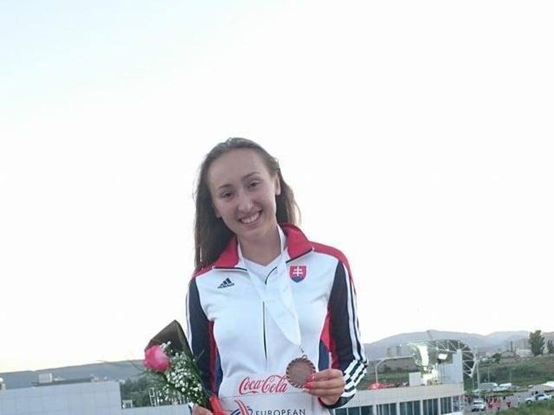 Gabriela Gajanová získala bronz
