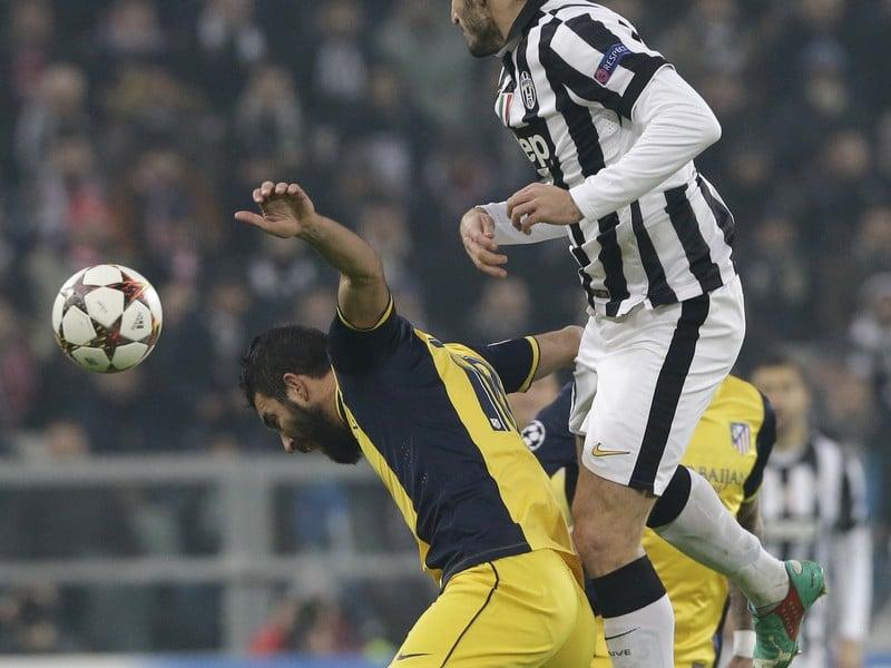 Arda Turan (Atlético) a Giorgio Chiellini (Juventus)