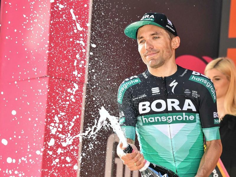 Na snímke taliansky cyklista Cesare Benedetti z tímu Bora-Hansgrohe