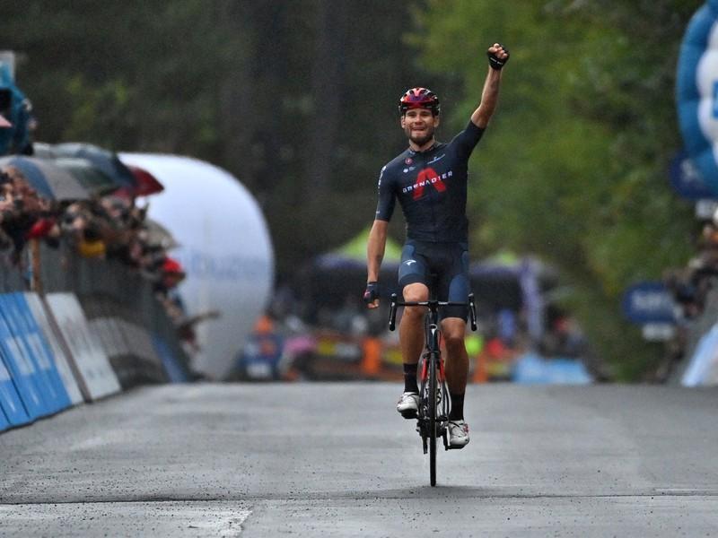Filippo Ganna víťazom v 5. etape pretekov Giro d'Italia