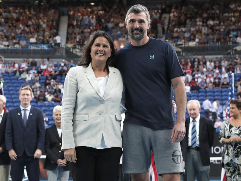 Conchita Martínezová a Goran Ivaniševič