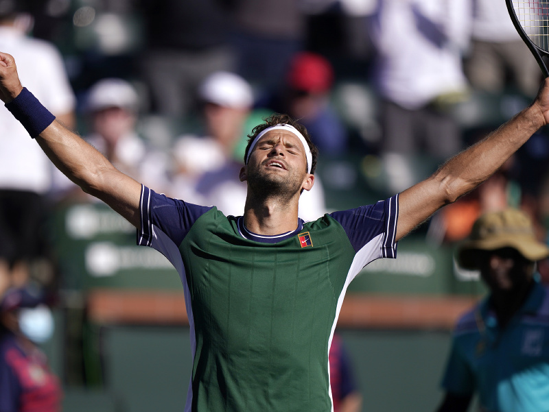 Bulharský tenista Grigor Dimitrov