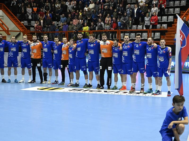 Mužstvo slovenskej hádzanárskej reprezentácie