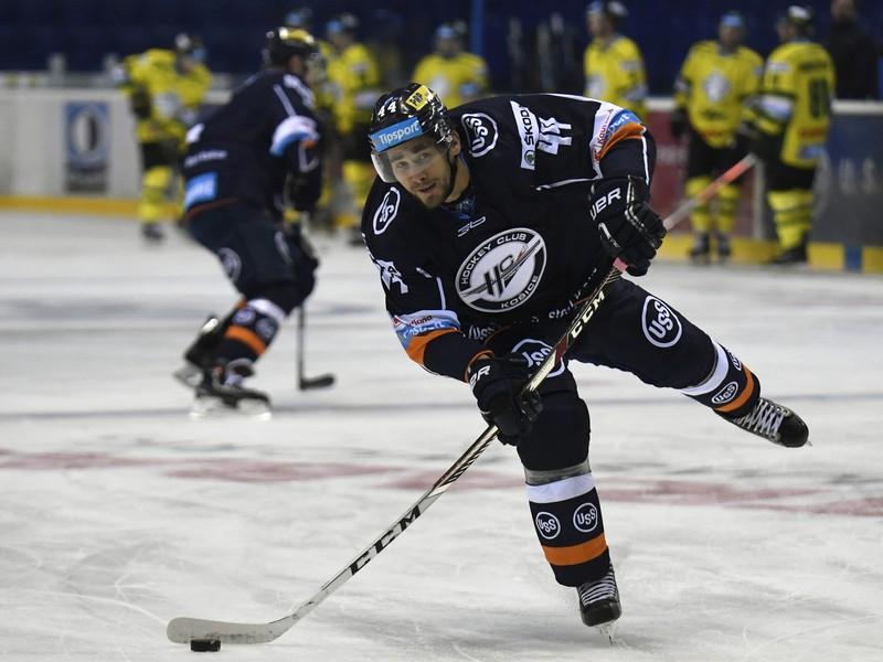 Gabriel Spilar v drese HC Košice