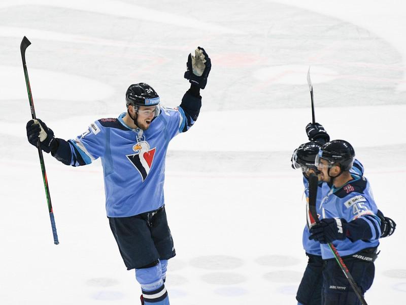 Radosť hokejistov z HC Slovan Bratislava