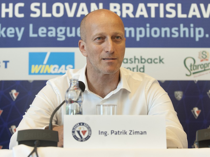 Nový generálny manžér HC Slovan Bratislava Patrik Ziman