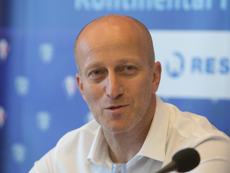 Generálny manažér HC Slovan Bratislava Patrik Ziman