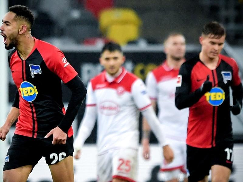 Hertha dokázala z 0:3 vyrovnať na konečných 3:3