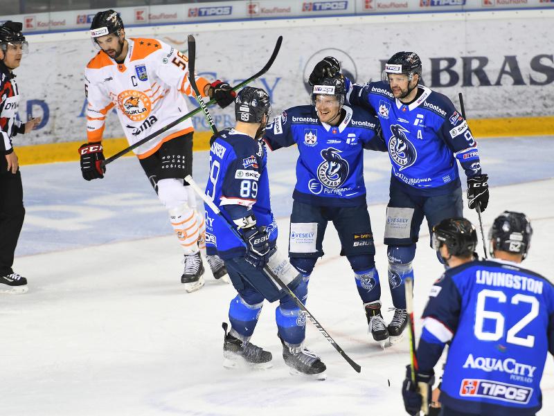 Hráči Popradu sa radujú z gólu