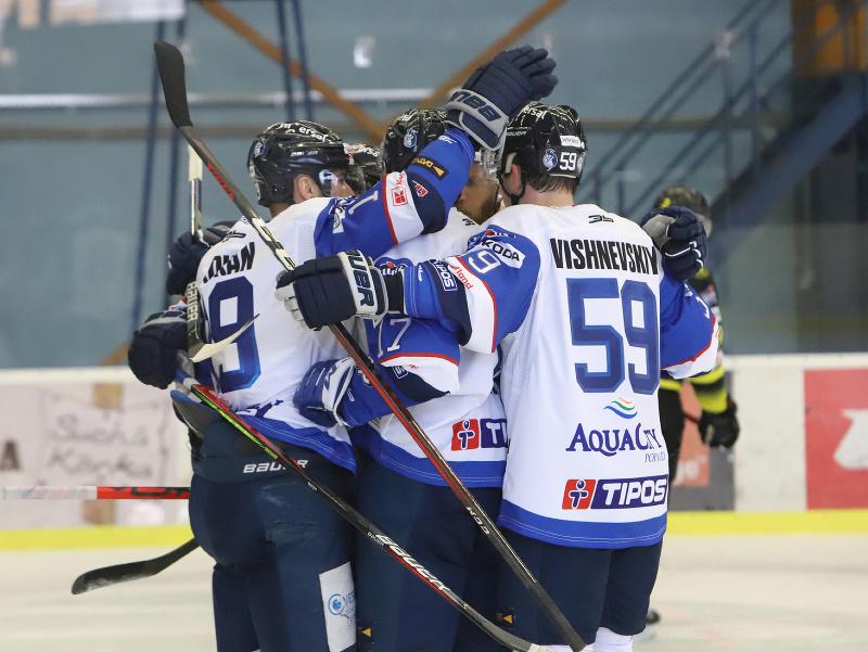Gólová radosť hokejistov Popradu