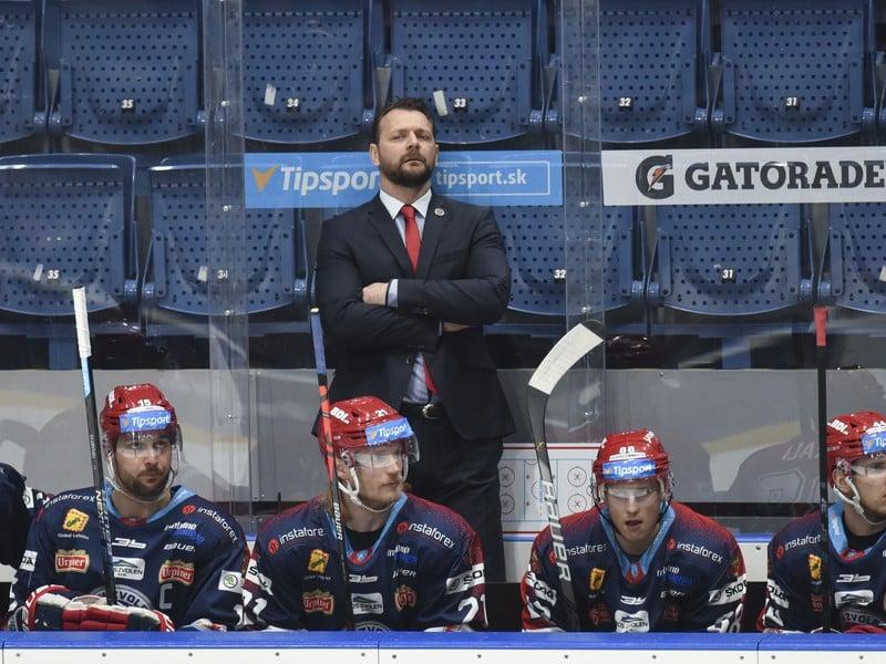 Tréner HKM Zvolen Andrej Podkonický