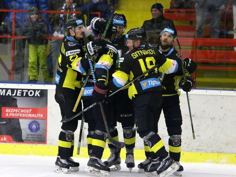 Gólové oslavy hokejistov Detvy