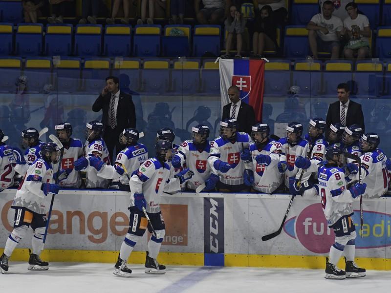 Slovenskí hokejisti na Hlinka-Gretzky Cupe