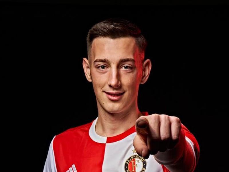 Róbert Boženík v drese Feyenoordu
