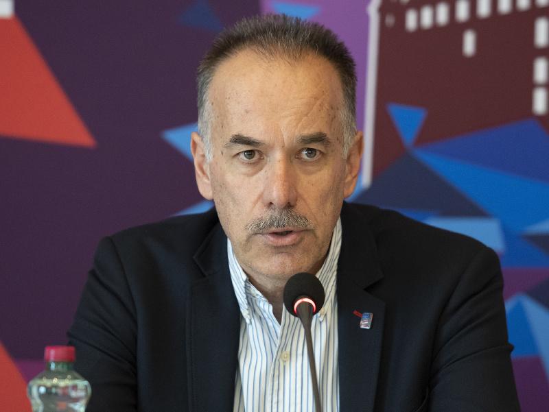 Člen komisie podujatí IIHF Igor Nemeček