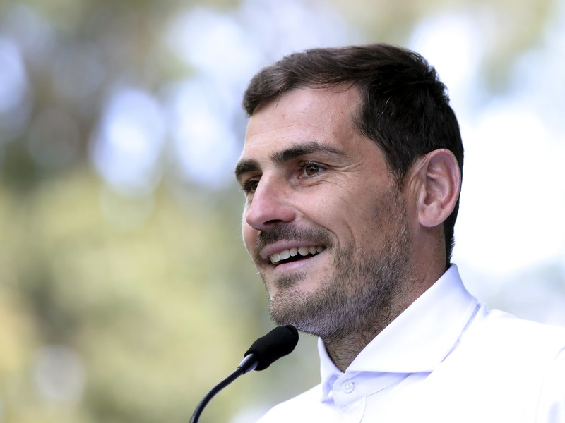Španielsky futbalový brankár Iker Casillas