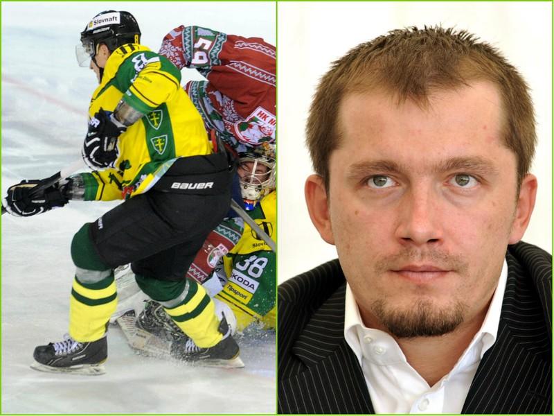 Imre Valášek z hokejovej Žiliny