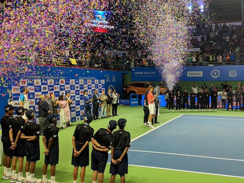 Kevin Anderson triumfoval v Indii