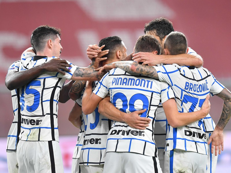 Radosť futbalistov Interu Miláno