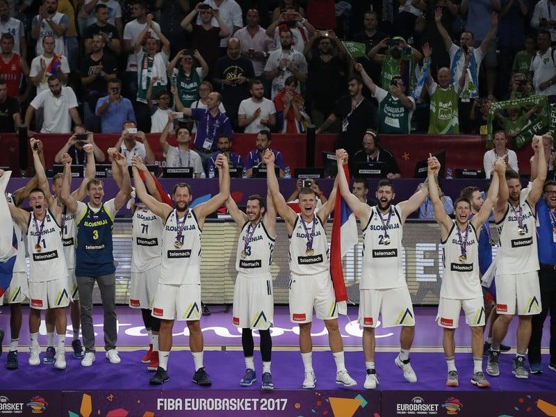 Basketbalisti Slovinska so zlatými medailami