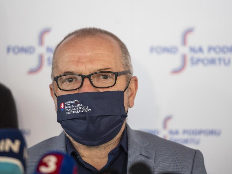 Štátny tajomník pre šport Ministerstva školstva, vedy, výskumu a športu SR Ivan Husár