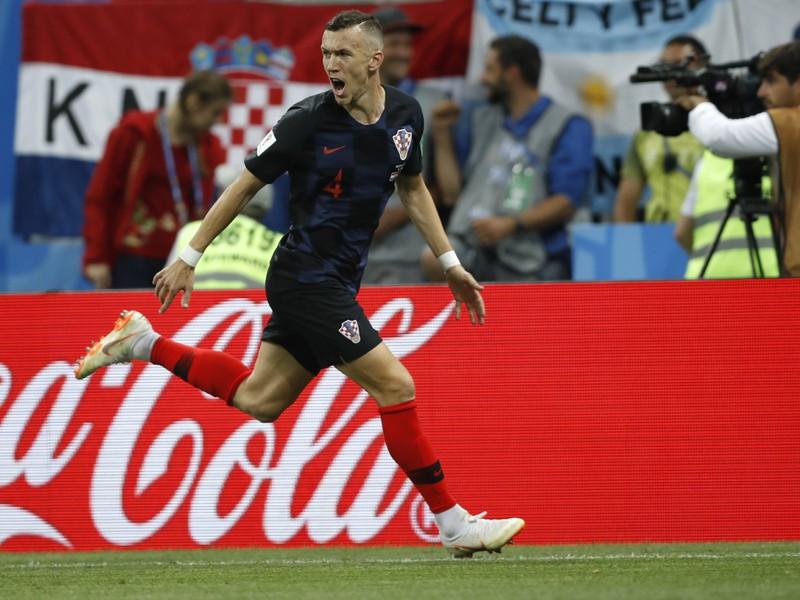 Ivan Perišič sa teší po strelení gólu