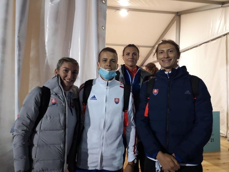 Kvarteto v zložení Oliver Murcko, Iveta Putalová, Emma Zapletalová a Šimon Bujna