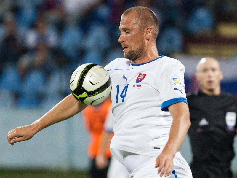 Martin Jakubko v drese slovenskej reprezentácie