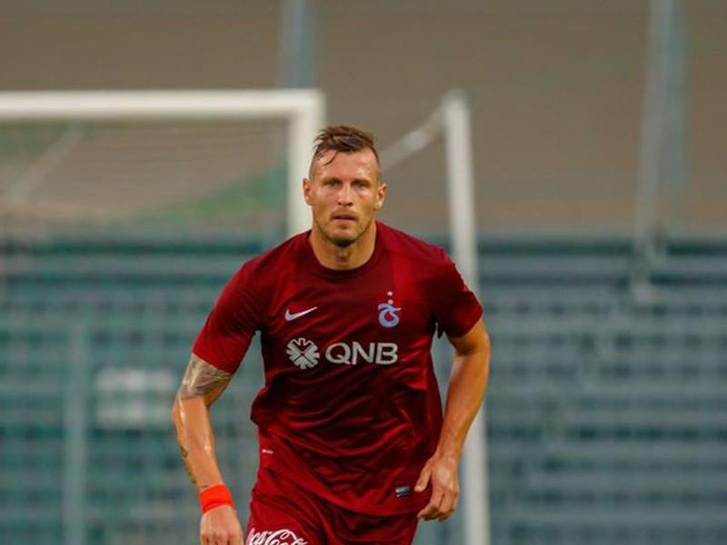 Ján Ďurica v drese Trabzonsporu